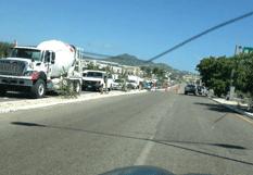 Congestionamientos viales en corredor turístico
