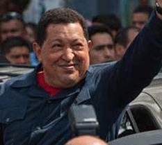 Hugo Chávez, reelecto