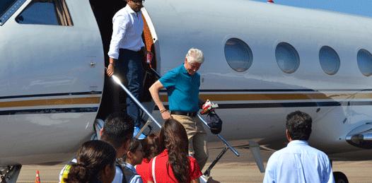 Bill Clinton en Los Cabos