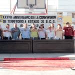 conmemoración del XXXVIII Aniversario de Conversión de Territorio a Estado