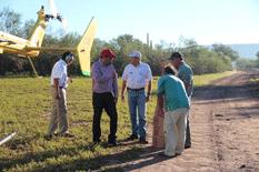 Por helicóptero llevaron apoyos a comunidades rurales