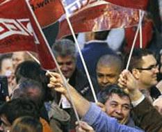 Españoles a la huelga