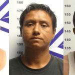 Adrián Guadalupe Ramírez Villa, Jorge Alberto López López y Manuel Adrián Avilés Medina.