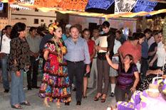 Inaugura Antonio Agúndez Caminata del Arte en SJC