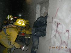 Participan bomberos locales en curso especial