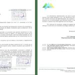 Carta de Cardones al Secretario de Desarrollo.
