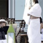 Luis Miguel y Brittny Gastineau en Los Cabos
