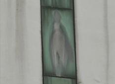Aparece virgen en la ventana