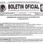 Boletín Oficial del Gobierno del Estado