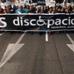 Salen a la calle bajo la consigna SOS Discapacidad