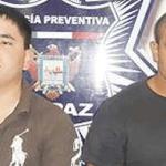 Pablo Alejandro Salas Chávez y Federico Jackes Mejía.