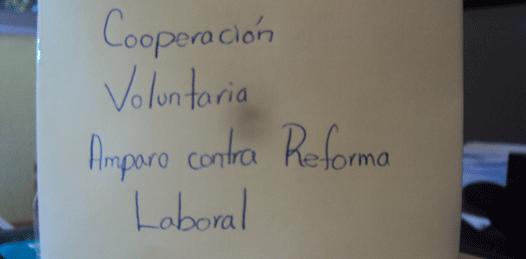 Se amparan maestros contra la Reforma Laboral