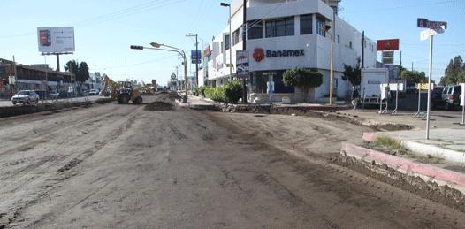 Hasta 2015 se prolongará la rehabilitación de las calles de La Paz
