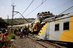 Trenazo en Sudáfrica
