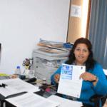 Directora de Atención Ciudadana Eladia Garza Coronel.