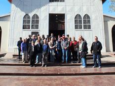 Turistas europeos visitan Mulegé