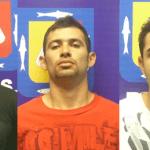Bryan Martínez García, Elías Israel Galaviz González y Erick Daniel González Murillo.