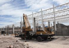Al 35% de avance la construcción del Centro de Convenciones de La Paz