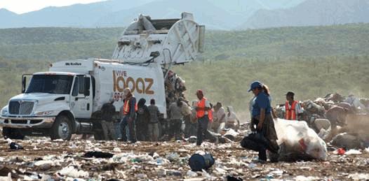 Genera cada sudcaliforniano casi un kilo de basura al día
