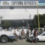 maniifestacion ante capitania de puertos