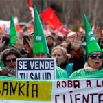 españoles toman las calles