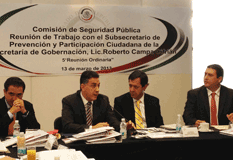 Gestiona Barroso apoyos para el personal penitenciario de BCS