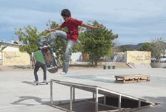 """Parque """"skate"""" en Camino Real"""
