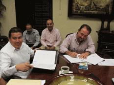 Firman convenio a favor del Estero Josefino