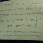 manifestacion afuera de la JLCyA