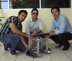 Crean en la UABCS robot limpiador de playas