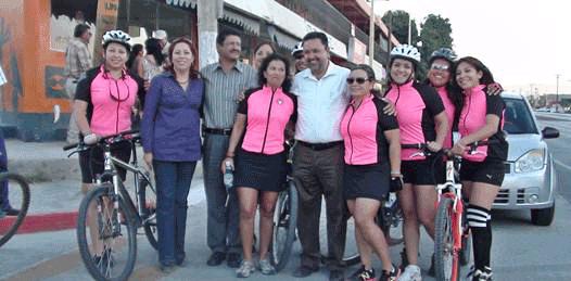 A pedalearle invitan Ellas