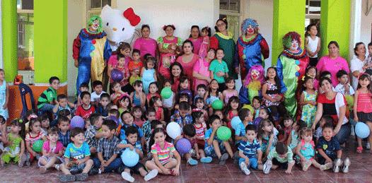 Celebra Guardería DIF Mulegé el Día del Niño