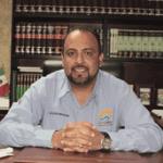 El secretario general municipal, Guillermo Marrón Rosas