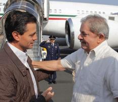 Peña Nieto y Lula contra el Hambre
