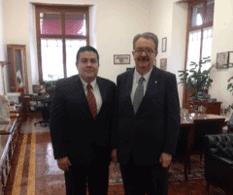 Se reunió Rector de la UABCS con Subsecretario de Educación Superior