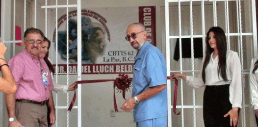 Inauguran Club de Ciencias en el CBTIS 62