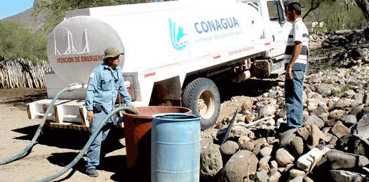 Agua a comunidades rurales