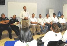 Reunión de encargados de seguridad y Subdelegados