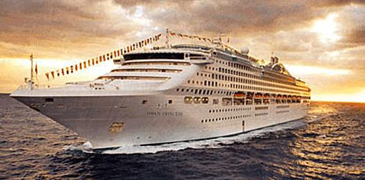 Confirman arribo de cruceros Princess a La Paz y Loreto