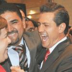 Esteha Ponce, Enrique Peña y Jorge Avilés