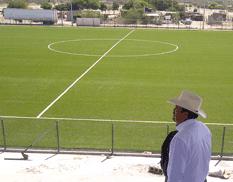 Avanzada la construcción del estadio del Tec