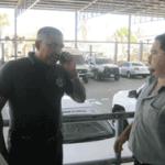 agente de la municipal cabeño, Felipe Reyes Martínez