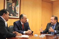 Se reúne Alcalde con Director del ISSSTE