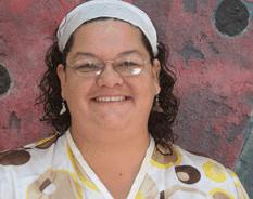 La directora de Cultura municipal en La Paz