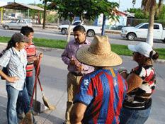 Reconoce Alcalde el trabajo de Servicios Públicos