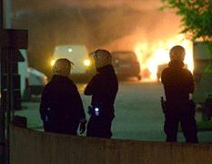 Disturbios en Suecia