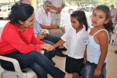 Nancy Saldaña, sensible a las necesidades de los loretanos