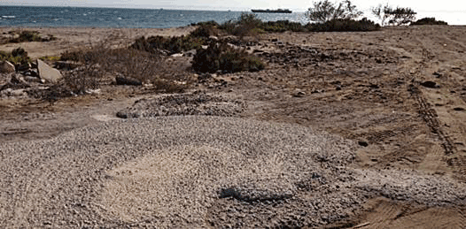 Playas paceñas convertidas en tiradero de escombro