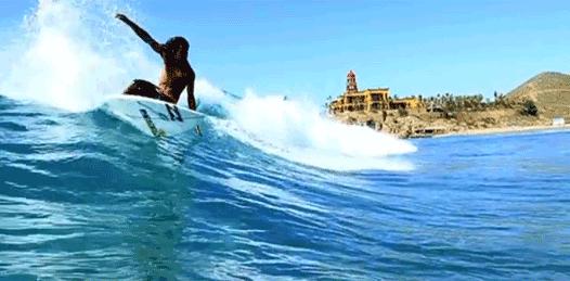 En puerta el Abierto de Surf de Los Cabos