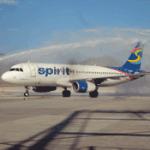 vuelo inaugural operado por Spirit.